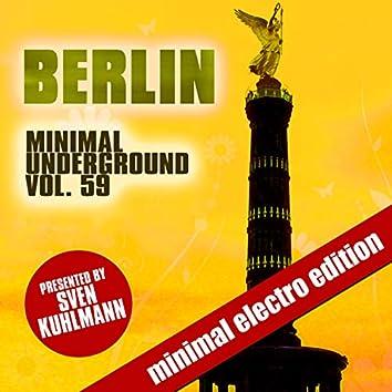 Berlin Minimal Underground, Vol. 59