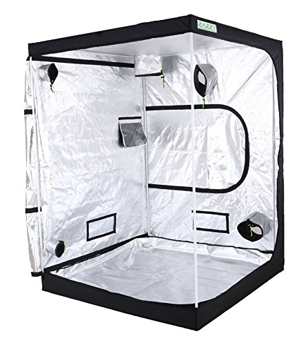 Zazzy 60'x60'x78' Plant Growing Tents 600D Mylar Hydroponic Indoor Grow Tent