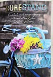 A4 XXL Ruhestandskarte Endlich einen Gang runterschalten Fahrrad mit Blumen