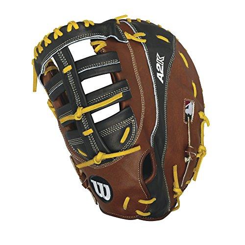 Wilson 2016 A2K 2800 First Base Baseball Glove, Walnut/Black/Blonde, Left Hand Thrower