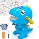 balnore Máquina de Burbuja, Portátil Soplador de Burbujas Automático, 3000 + Burbujas por Minuto, Juguetes Ideales para niños, Adecuado para Fiestas, Bodas, Picnics (Azul 1)