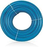 VITO Garden - 25 m PVC verstärkter Flexibel Gartenschlauch LongLIFE 25 mm   1' aus robustem Kreuz- und Trikotgewebe, Druck- und UV-beständig   knickfrei   verdrehungsfest