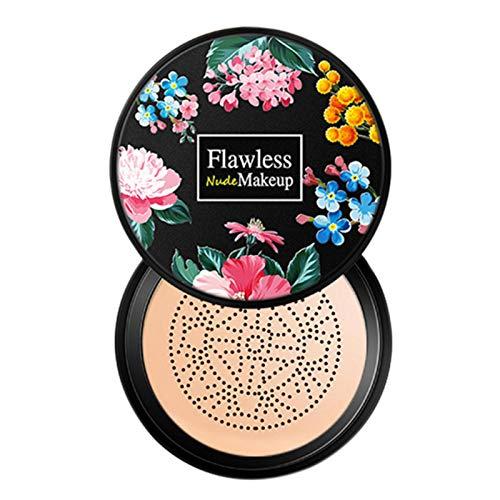Dent Pilzkopf Luftkissen BB Creme, Concealer Dauerhaftes Nacktes Make-up Feuchtigkeitsspendendes Aufhellungspigment CC Liquid Foundation Gleichmäßige Hautfarbe Make-up...