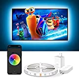Govee TV Backlights, 10FT LED Lights for TV Work with Alexa, Google Assistant and APP, Music Sync, 16 Million RGB DIY Colors, TV LED Backlight for 46-60 inch TVs, USB Powered