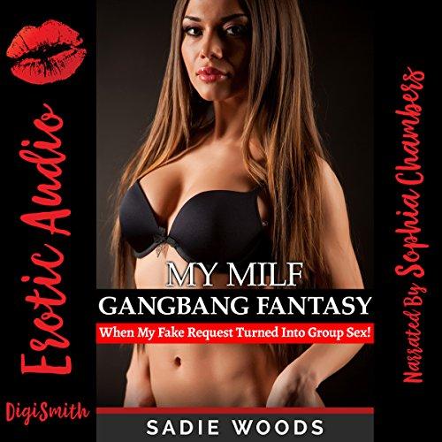 My MILF Gangbang Fantasy audiobook cover art