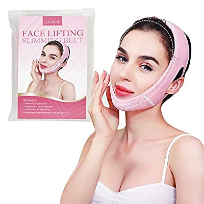 Double Chin Reducer Chin Up Mask, Face Lifting Slimming Belt, Slimming face mask.