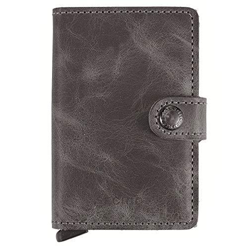 Secrid Miniwallet Vintage Grey Black Wallet SC5939