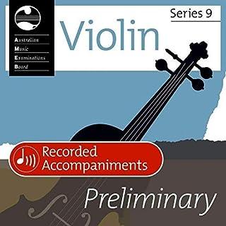 Violin Preliminary Series 9 Recorded Accomp Cd