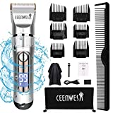 Best Cordless Barber Clippers - CEENWES Hair Clippers Professional Hair trimmer Quiet Cordless Review