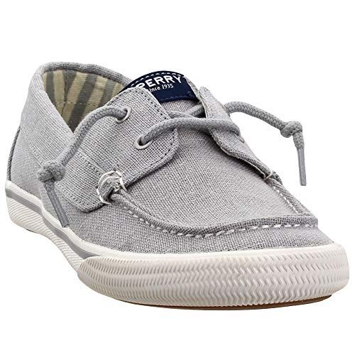 Sperry Kids Girl's Lounge Away (Little Kid/Big Kid) Silver Sparkle 4 Big Kid