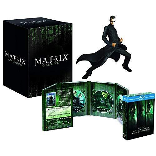 Matrix Trilogy Collection - 3-Disc Box Set & Neo Resin Statue ( The Matrix / The Matrix Reloaded / The Matrix Revolutions ) (Blu-Ray & DVD Combo) [ Italienische Import ] (Blu-Ray)
