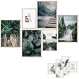 Premium Poster Set - 7 Beidseitige Bilder - Stilvolle Home
