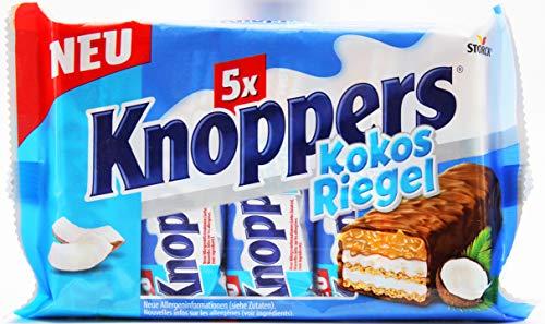 Knoppers Kokos Riegel 5er, 5er Pack (5 x 200g)