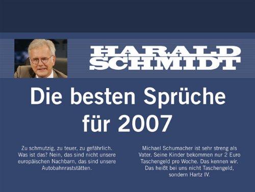 Harald Schmidt Tagesabreißkalender 2007.