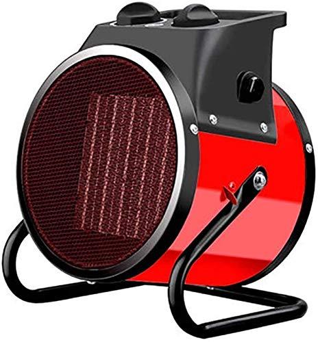 XIANGAI Calefactor Pequeños electrodomésticos Chimenea eléctrica, Ventilador Industrial eléctrico Calentador 2000W Calentador de Aire con termostato Silen.