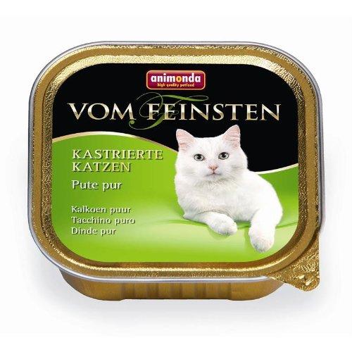 Animonda vom Feinsten für kastrierte Katzen Pute pur 32x 100g