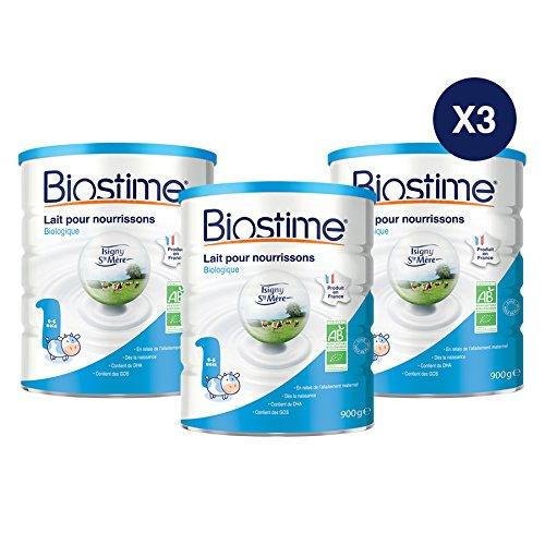 Biostime Lait Infantile 1er Âge Biologique 900 g...