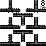 Conectores de manguera para sistema de riego de 16mm (Tee)