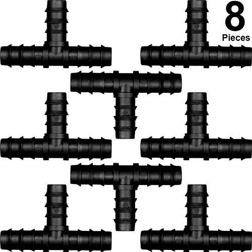 Connettori per Tubi Flessibili per 16 mm Sistema di Irrigazione (Tee)