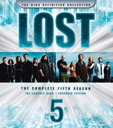 LOST Staffel 5 (Blu-ray, 5 Discs) DEUTSCHE TONSPUR