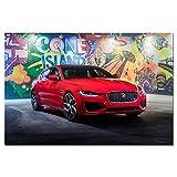 Wandkunst Leinwanddrucke Poster dynamische Sportwagen