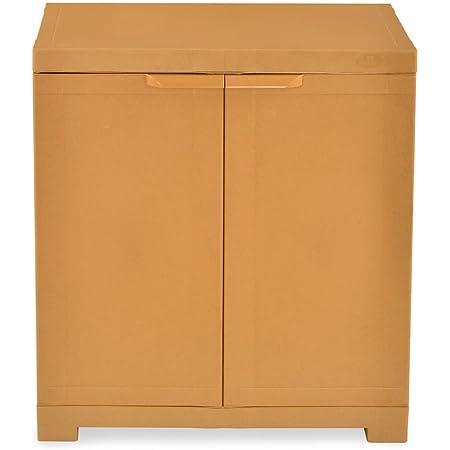 Nilkamal Freedom Mini Small Cabinet (Sand Brown)