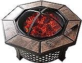 Kamine Für Die Holzverbrennung Im Garten Runder Umweltschutzkamin Für Den Rauchfreien Garten Multifunktions-Holzbrenner