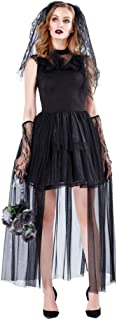 Women Vampire Ghost Bride Costumes Sexy Fancy Dresses for Women Halloween Carnival Party Gown Performance Uniform
