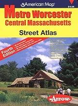 American Map Metro Worcester Street Atlas: Central Massachusetts (American Map)