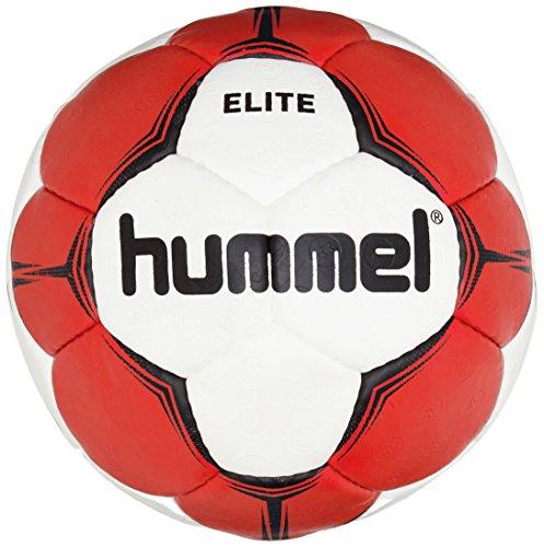Hummel Erwachsene Smu Elite HB Handball, weiß (White/Red), 3