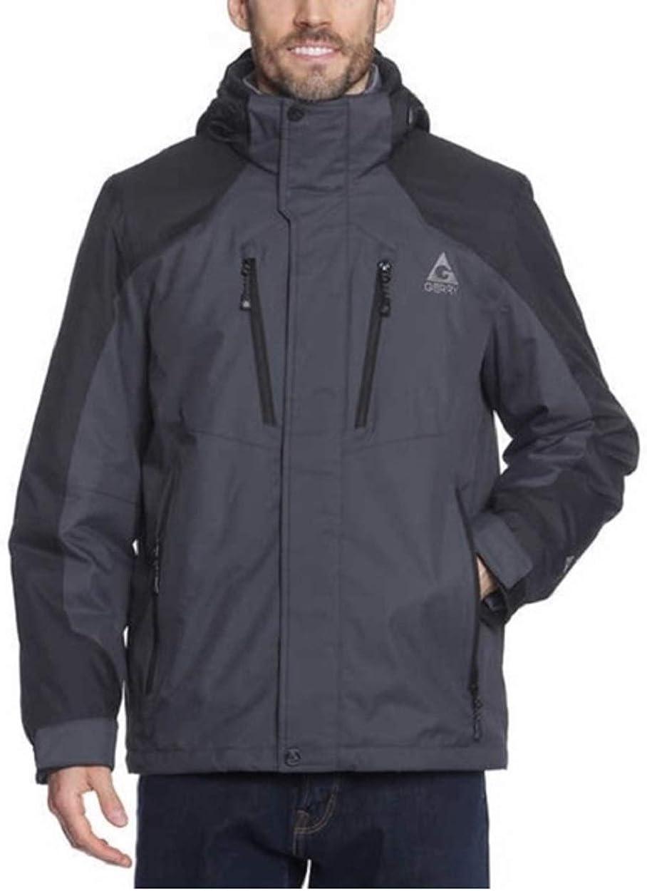 Gerry Men's 3 in 1 Systems Waterproof Winter Jacket