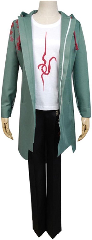 Dangan Ronpa Nagito Komaeda Cosplay Kostüm Herren L