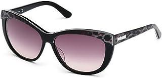 Just Cavalli Women's JC499S Acetate Sunglasses BLACK 60