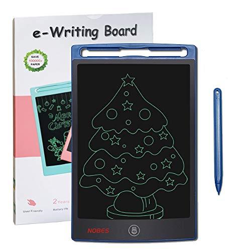 Preisvergleich Produktbild SCRIMEMO LCD Schreibtafel für Kinder 8, 5 Zoll,  Handschrift Notizblock,  Zeichnung Boards Schreibtafel für Kinder Super als Geschenke für 3-12 Jahre Mädchen Junge (Blau)