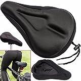 XPhonew Housse de siège de vélo en gel, meilleure housse de selle de vélo avec housse de selle...