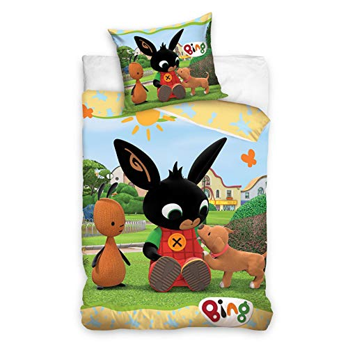 Bing Bunny Play - Set copripiumino singolo - misura europea