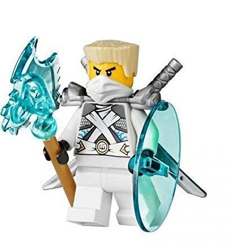 Lego Ninjago Minifigur Zane Titanium Ninja aus...