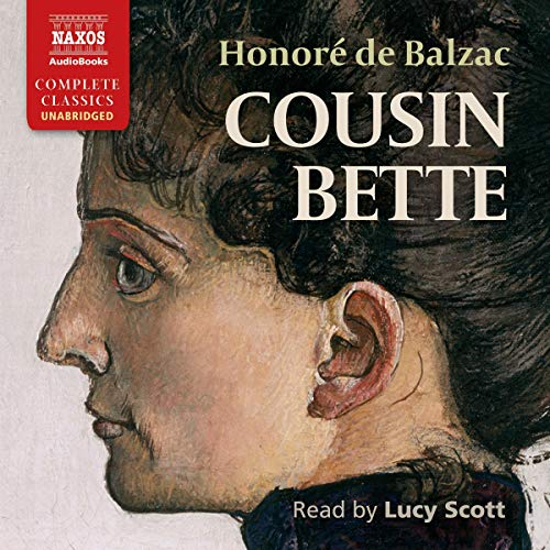 Cousin Bette audiobook cover art