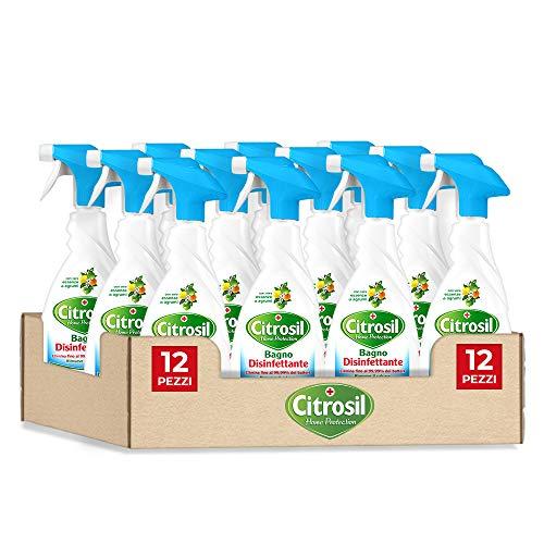 Citrosil Home Protection - Sgrassatore Bagno Disinfettante con Vere...