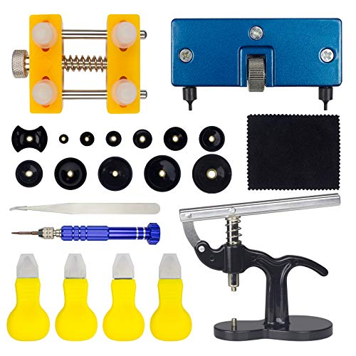 Ziss Watch Battery Replacement Tool Kit Watch Back Remover Tool for Various Kinds of Watch Multifunctional Watch Opening Tool