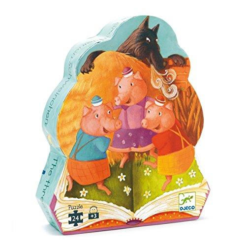 Djeco - P. Silueta los Tres cerditos