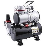 Compresor de aerógrafo Fengda FD-189 con calderín / regulador de presión / 3L / 4 bar / parada automática