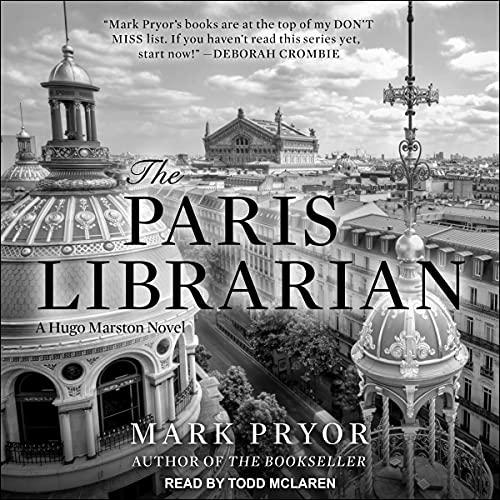 The Paris Librarian cover art