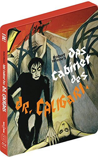 DAS CABINET DES DR CALIGARI (Masters of Cinema) Limited 2-disc Blu-ray SteelBook edition [UK Import]