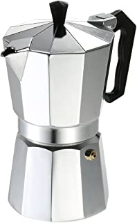 6-Cup Aluminum Espresso Percolator Coffee Stovetop Maker Mocha Pot