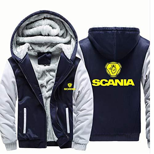 GXY Sudaderas con capucha para hombre Pullover Car Logo Sweater - SCA-NIA...