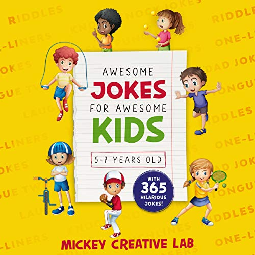 Awesome Jokes for Awesome Kids 5-7 Years Old  By  cover art