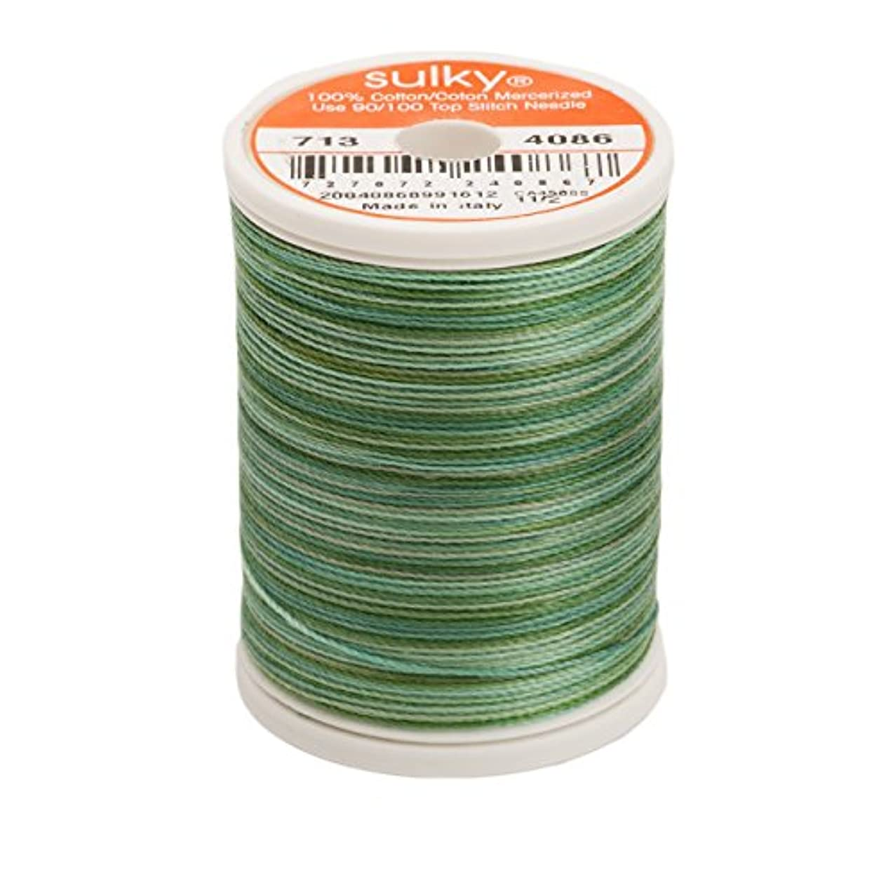 Sulky 713-4086 12-Weight Cotton Blendable Thread, 330-Yard, Cactus