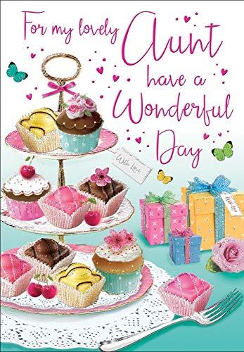 Verjaardagskaart tante - 9 x 6 inch - Regal Publishing