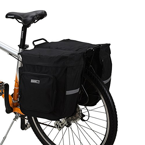 ROSWHEEL 30L Multi-function Cycling Bicycle Bag Bike Rear Pannier Rack...